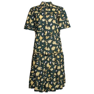 Marni Size 40 Green 2 Piece Blouse & Skirt