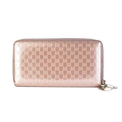 Gucci Pink Zippy Wallet