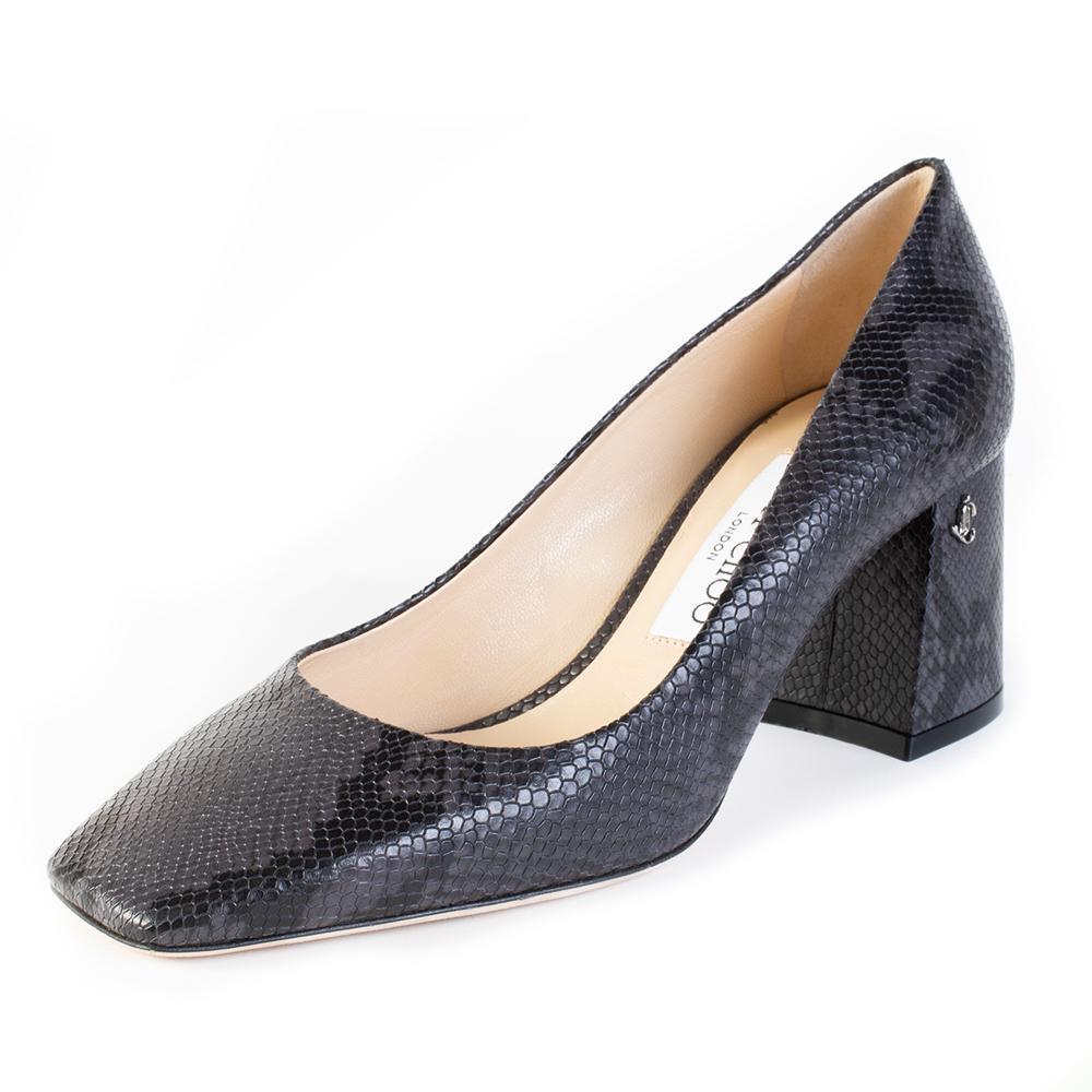 Jimmy Choo Size 36.5 Grey Heel