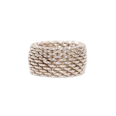 Tiffany & Co. Mesh Size 6 Ring