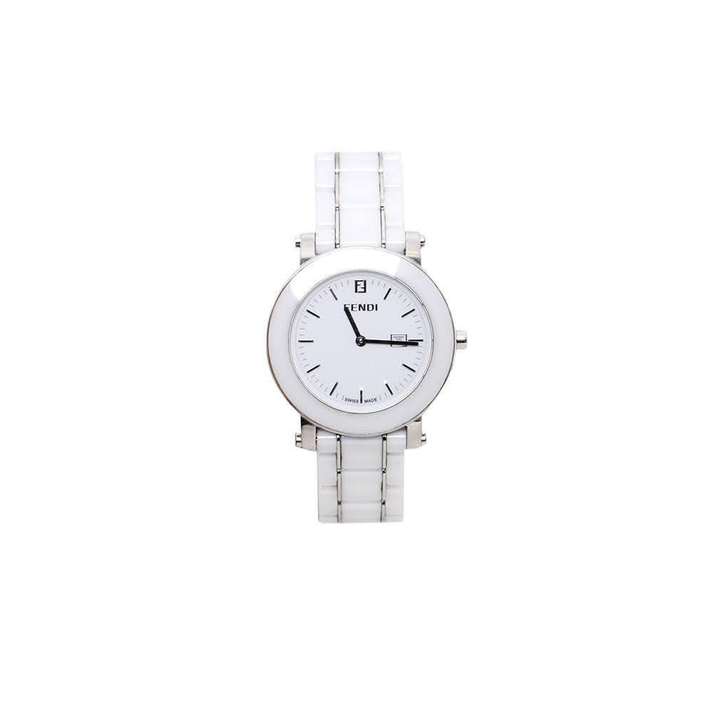 Fendi Ceramic Link Watch