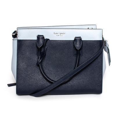 Kate Spade Blue Two Tone Cameron Handbag