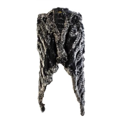 NKH Size Medium Rabbit Fur Vest