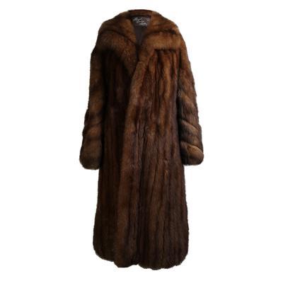 Royal Crown Size Large Sable Fur Coat