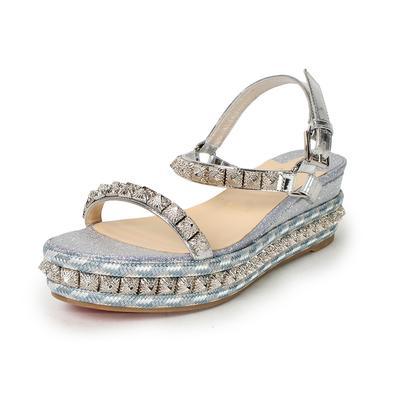 Christian Louboutin Size 39 Pira Ryad Sandals