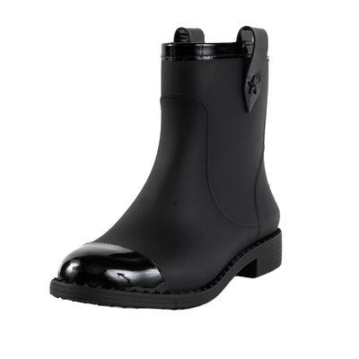 Jimmy Choo Size 41 Black Rain Boot