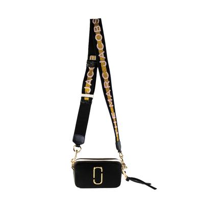 Marc Jacobs Black with Straps Handbag