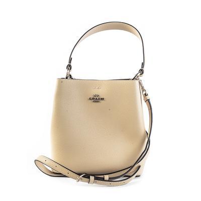 Coach Yellow Handbag