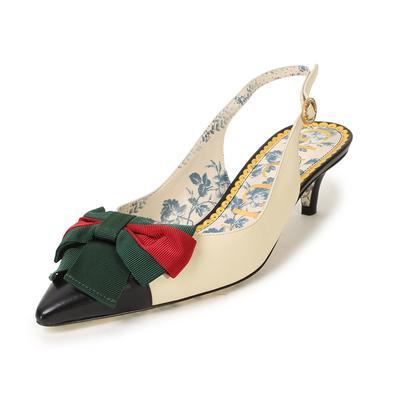 Gucci Size 37 Jane Slingback Pumps