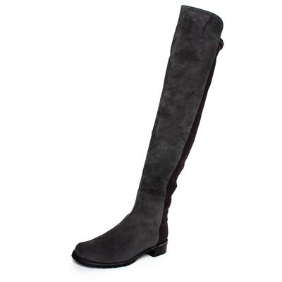 Stuart Weitzman Size 8 Grey 50/50 Over Knee Boots