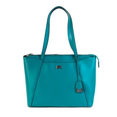 Michael Kors Turquoise With Zip Wallet