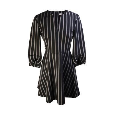 Tibi Size 2 Stripe Dress