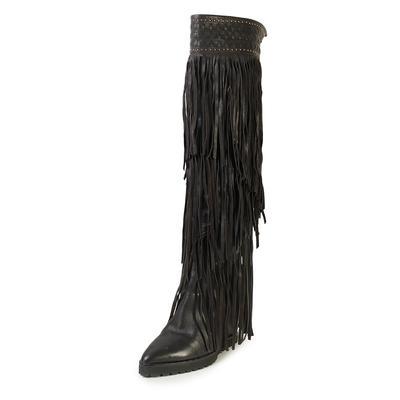 Ivy Kirzhner Size 8.5 Fringe Boots