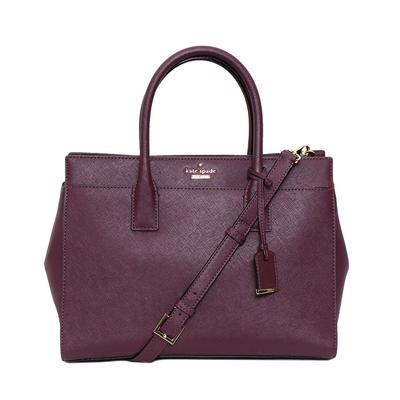 Kate Spade Purple Satchel
