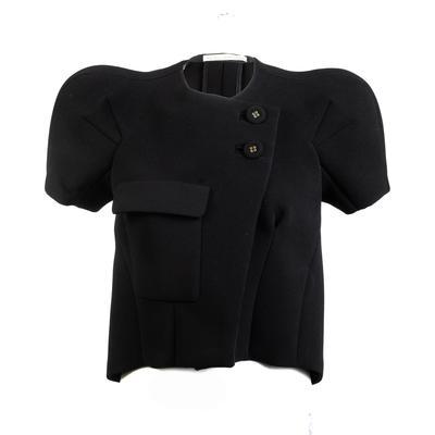 Balenciaga Size 38 Black SS 1 Pocket Jacket