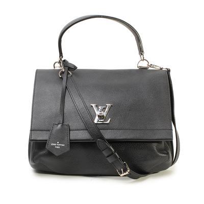 Louis Vuitton Lockme II Noir Crossbody Bag