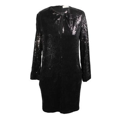 Balmain Size 38 Short Sequin Party Dress