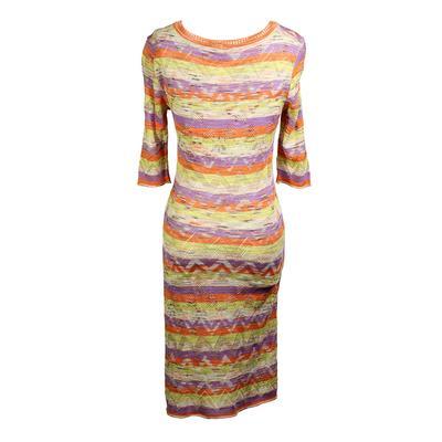 Missoni Size Large Zig Zag Stripe Dress