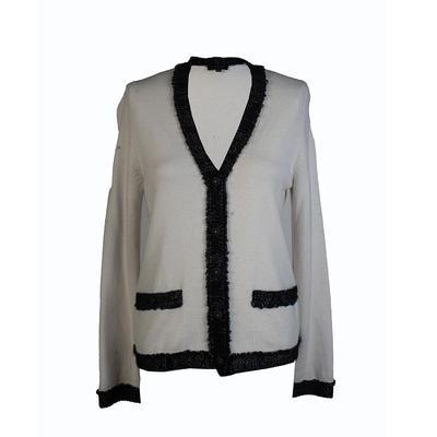 Chanel Size 36 White Cardigan