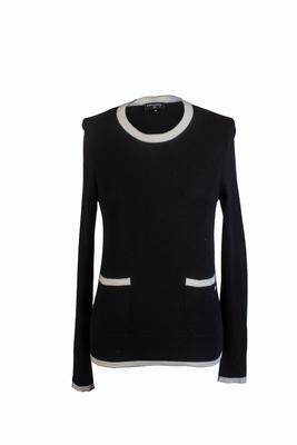 Chanel Size 36 Black Sweater