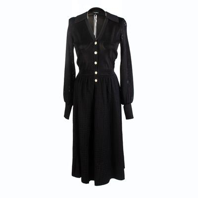 Chanel Size 36 Black Short Dress