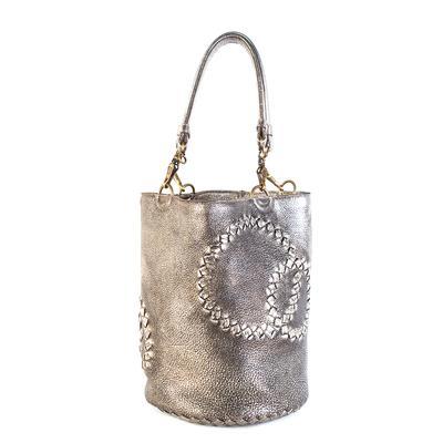 Bottega Veneta Gold Handbag