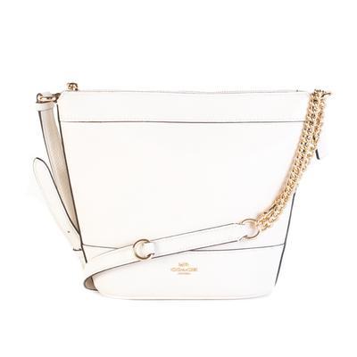 Coach Off-White Leather Handbag