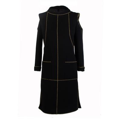 Chanel Size 38 Black Sleeveless Dress