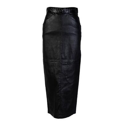 Chanel Size 34 Black Skirt