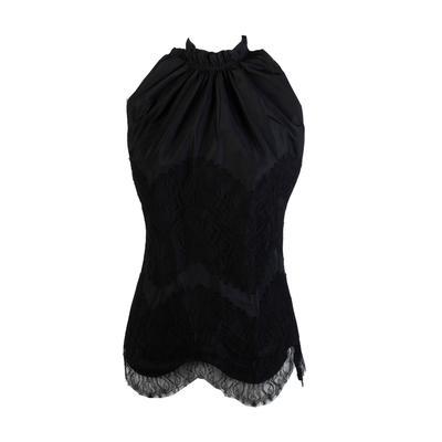 Givenchy Size XS Black Sleeveless Top