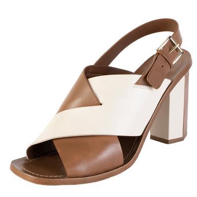 Alexander Wang Size 39 Cream/ Tan Leather Heels