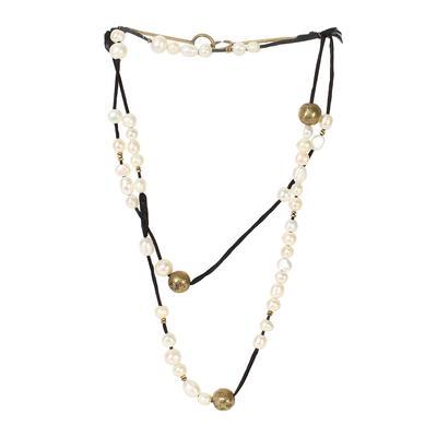 Beth Orduna Pearl Necklace