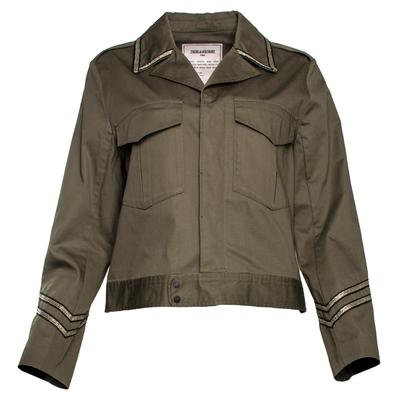 Zadig & Voltaire Size Medium Green Jacket