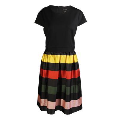 Ted Baker Size XL Striped Midi Dress