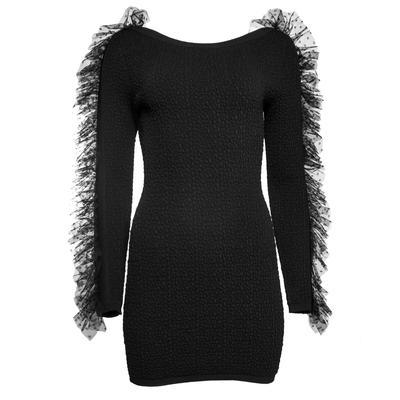 Ronny Kobo Size Small Black Yasmin Dress
