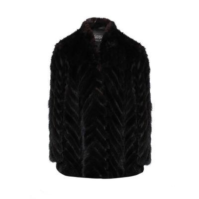 Rhombergs Size Medium Mink Fur Coat