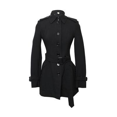 Burberry Size 4 Small London Black Coat