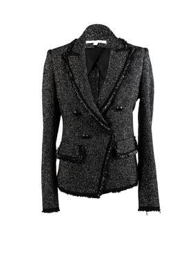 Veronica Beard Size 2 Black/Silver Jacket