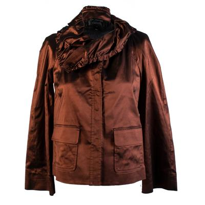 St. John Size Petite Bronze Jacket