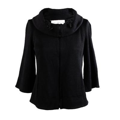 St. John Size 2 Black Jacket New