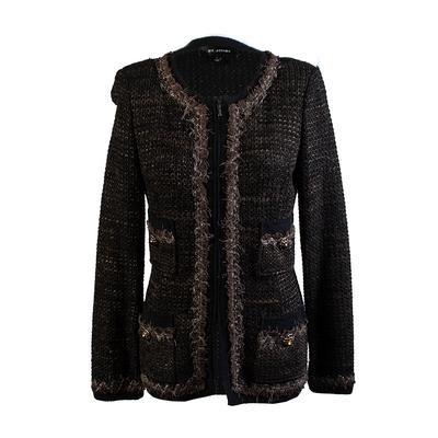St. John Size 4 Brown Coat