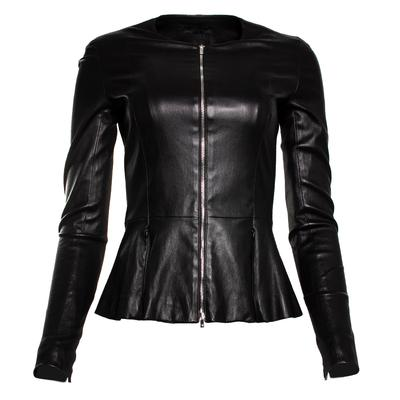 The Row Size XS Black Anasta Lambskin Jacket