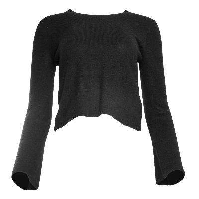 Gucci Size Medium Black Cashmere Top