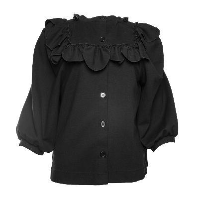 Simone Rocha Size Large Black Top