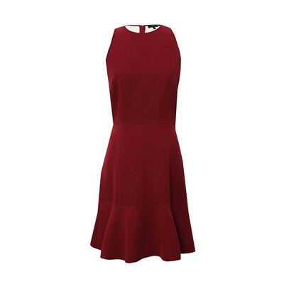 Theory Size 8 Medium Red Dress