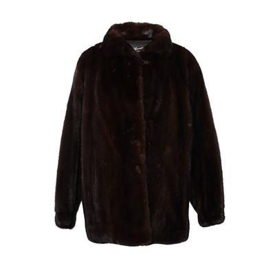Carl W. Herrmann Size M/L Mink Coat