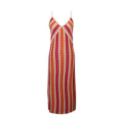 SUBOO Size Medium Pink/Gold Dress
