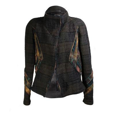 Isabel Marant Size 40 Plaid Quilt Jacket