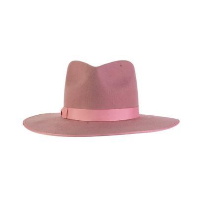 Lack Of Color Size XL PInk Wool Wide Brim Hat