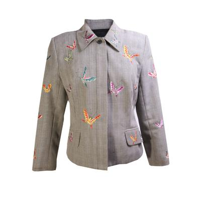 Vivienne Tam Size 2 Vintage 90's Butterfly Blazer